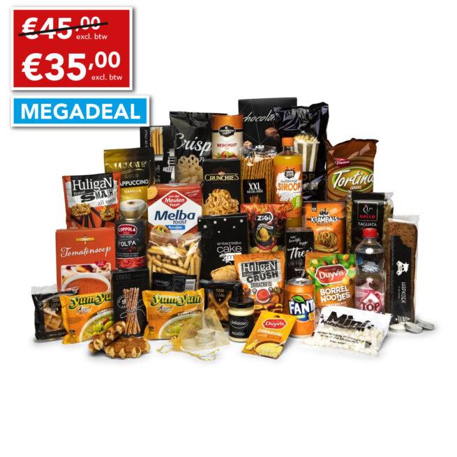 Kerstpakket 35 euro topper